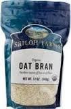 Shiloh Farms: Oat Bran 12 Oz (12 Pack)