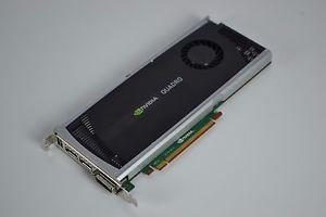DELL 038XNM Nvidia Quadro 4000 2GB GDDR5 PCIe 2.0 Video Card