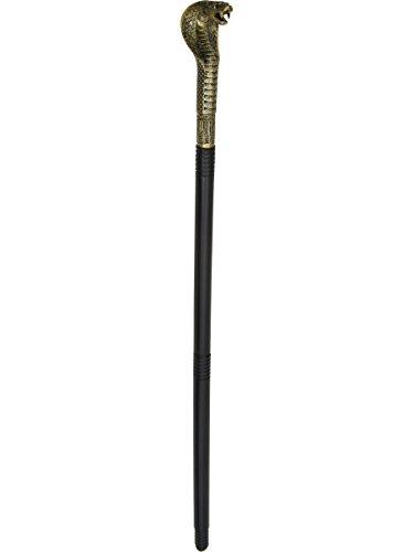 Jacobson Hat Company Unisex-Adult's Cobra Snake Sceptor, Black, Adjustable]()