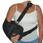 Small Shoulder Immobilizer & Sling w/ Abduction Pillow & Strap
