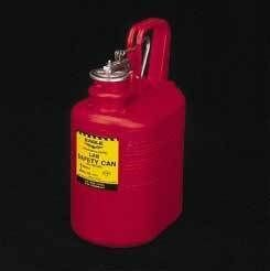 Lab Safety Cans, HDPE, Eagle Manufacturing