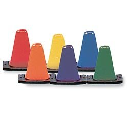 Color My Class Game Cone Set, 6-Inch