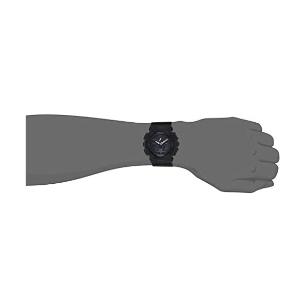 Casio G de shock–Reloj de pulsera para hombre con Analog/Digital de Pantalla y Resin de pulsera–GA de 100 5