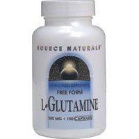 Source Naturals L Glutamine 500mg