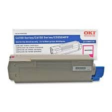 Genuine OEM brand name Okidata C6150 Series Magenta Toner (6K Yield) 43865718