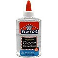 Elmer's E305 Clear Washable School Glue, 5 oz Bottle, 2 Pack