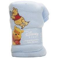 Disney Baby Winnie the Pooh Fleece Blanket Blue
