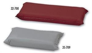 Hausmann Platform Table Pillow/mat (Full Size (22x14x3), Gray)