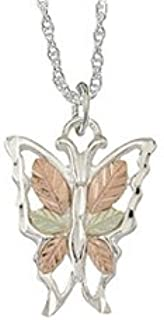 product image for Black Hills Silver Butterfly Pendant