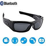 Newwings Bluetooth Sunglasses Camera Full HD 1080P Video Recorder Camera with UV Protection