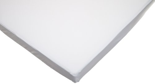 American-Baby-Company-100-Cotton-Value-Jersey-Knit-Fitted-PortableMini-Crib-Sheet-White