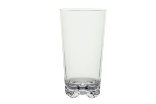 Strahl Vivaldi Clear Cooler Tumblers, Set of Six