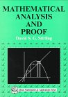 Mathematical Analysis and Proof, Stirling, David S., 1898563365
