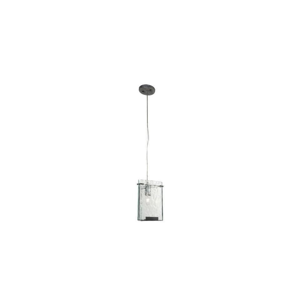 Varaluz 160M01RN Rainy Night Rain Single Light Hanging Mini Pendant