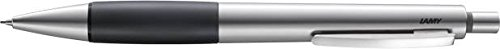 - Lamy Unisex Accent Rubber Grip Mechanical Pencil - Silver/Black
