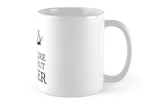 it's like guitar but cooler 11oz Mug - Made From Ceramic - Best Gift For Family Friends]()