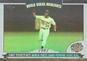 - 2004 Topps World Series Highlights Baseball Card #KP Kirby Puckett