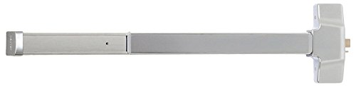 Satin Stainless Steel Allegion Dexter Commercial Hardware ED1000-R-EO-3-32D Grade1 Exit Only R Series rim panic device 32D