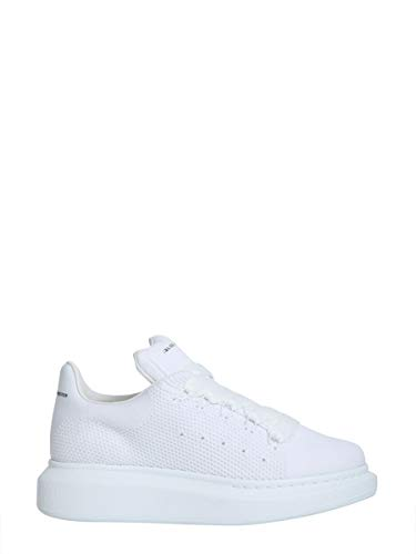 Alexander McQueen Women's 533699W4i909000 White Polyester Sneakers
