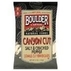 Boulder Canyon Cracked Pepper Potato Chips Gluten Free (12x5 Oz)