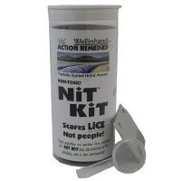 Wellinhand Action Remedies Nit Kit Lice Treatment Kit