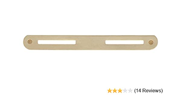 DOUBLE BRASS RIBBON OR FULL SIZE MEDAL MOUNTING BAR