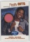 Vonzell Solomon (Trading Card) 2005 Fleer American Idol: Season 4 - Reality Bits #RB-VS