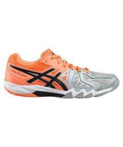 Asics  Gel Blade 5,  Damen Handballschuhe , Orange - Orange (Flash Coral/Black/Mid Grey) - Größe: 40
