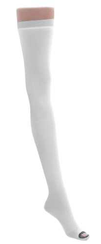 Medline MDS160860H Stocking, Anti-Embolism, T-L, L Short, Lf