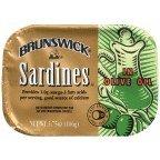 Brunswick Sardines (Brunswick Sardines in Olive Oil)