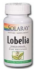 Lobelia 50mg Solaray 100 Caps
