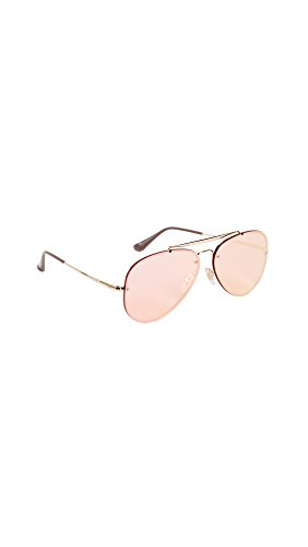 Ray-Ban RB3584N 9052E4 Non-Polarized Sunglasses, Gold/Pink Mirror - Pink Ray Ban