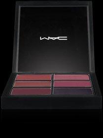 Mac Pro Lip Palette 6 Select Plums Glamour Daze Lip Glosses Beauty