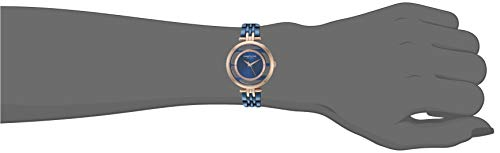 Kenneth Cole New York Women's Transparency Japanese-Quartz Watch with Stainless-Steel Strap, Blue, 14 (Model: KC50922003)
