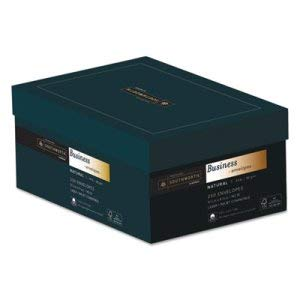 - Southworth Co 25% Cotton #10 Business Envelope, Natural, 24 lbs, Wove, FSC - 250/Box (1 Box)