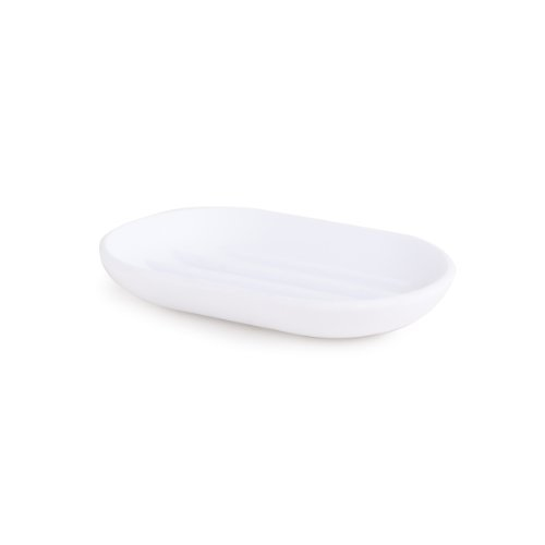 Umbra Touch Soap Dish, White (Bathroom Soap Shower)