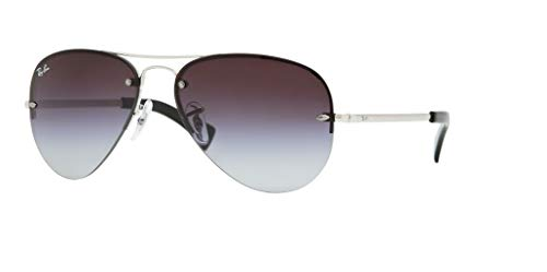 Ray-Ban RB3449 003/8G 59M Silver/Grey Gradient Sunglasses For Men For ()