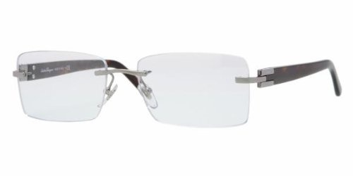 Salvatore Ferragamo FE 1869 (502) GUNMETAL DEMO LENS 52mm - Glasses Ferragamo Reading