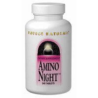 Amino Night, 240 Tabs by Source Naturals (Pack of 6) by Source Naturals