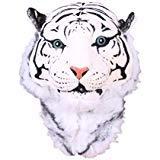 Hip Style Wild Animal Tiger Head Bag Backpack Knapsack, White