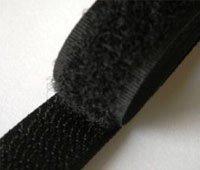 Nova NT300/100/BLK | Black Stick-on Hook & Loop Tape | 100mm x 25m | Self Stick by Nova (Image #1)