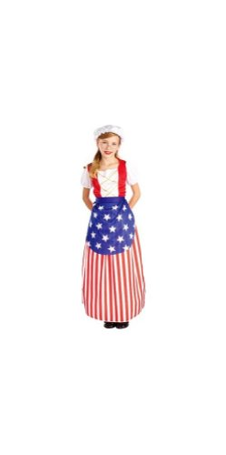 Betsy Ross Costume - Child Costume - Large (12-14) -