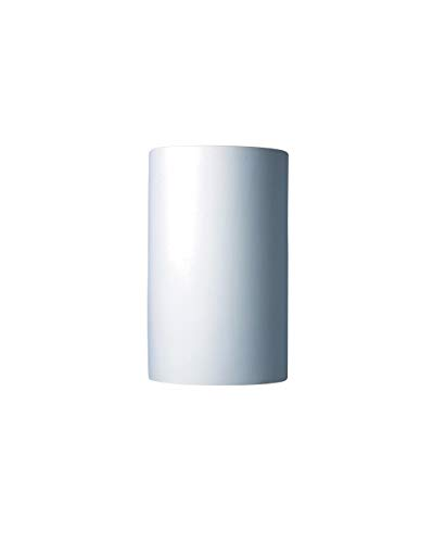 Justice Design Fan - Justice Design CER-1265-BIS, Ambiance Ceramic Wall Sconce Lighting, 2LT, 200 Watts, Bisque