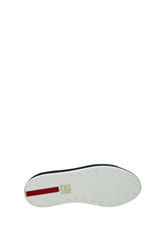 Prada 3e6266 Cuir Femme Blanc Sneakers Eu rqBwtrEPT