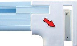 Fanta-Sea Coping Assembly (2 Pieces) for Use with Swimming -