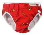 Imse Vimse Swim diaper red fish S 11-17 lbs.