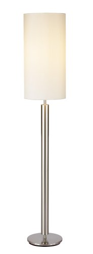 Adesso 4174 22 hollywood 58 floor lamp satin steel amazon adesso 4174 22 hollywood 58quot floor lamp satin steel greentooth Images