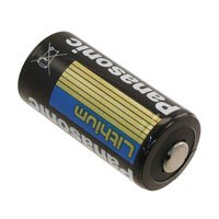 Panasonic CR123A-12PK Lithium 3V Photo Lithium Battery, 0.67