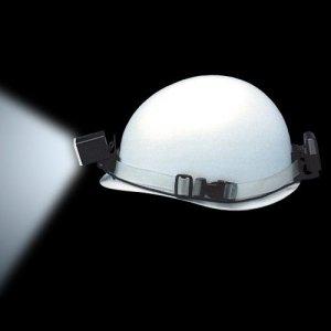 長谷川電機工業 LEDヘルメットライト 手元足元灯タイプ 広角 ゴムバンド式 EHL-2G B00FZL6AQC