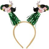 Hula Girl Boppers Party Accessory (1 count) (1/Pkg) (Hawaiian Party Dress)